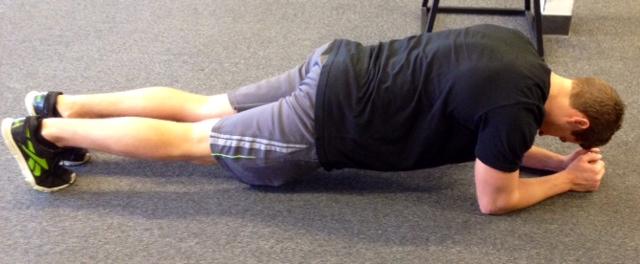 Brad Forearm Plank